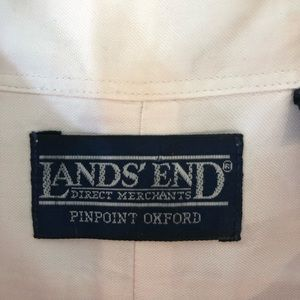 Lands' End Shirts - Lands' End Pinpoint Oxford